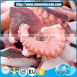 Delicious fresh leg and head part frozen cooked octopus cut for sale