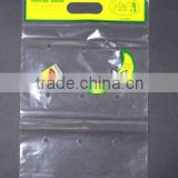 blocked clear lovely print perforated/gelocht/keypunched ventilated grape/banana plastic bag for fruit shop and fruit store