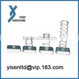 Stainless Screw Channel Spring Nut