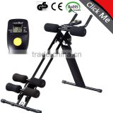 Portable cheap price 295 abdominal exercise equipment bodybuilding