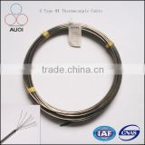 S Type Duplex RTD Pt100 Temperature Sensor MI Cable for Temperature Measurement Instrument