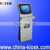 Touch screen queuing machine and multifunctional kiosk