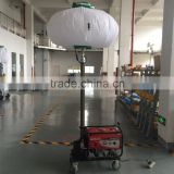 inflatable stand balloon with tripod,glowing tripod balloon with printed logo,