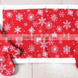 printed christmas cotton kitchen towel set pot holder oven mitten home textile china products