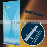 LH1-2 flex roll up banner stands used as Display equipment