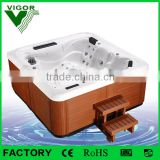 Factory bathtub price with luxury loungers