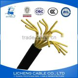 multi core cable kvv 10*1.5mm2 copper cable machine control cable pvc insulated and sheathed