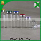 10 ml plastic injection vial with butyl rubber stopper 20mm