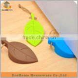 EC054AM silicone door stopper Wedge Finger Protector in leaf style