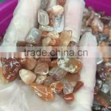 sand and gravel wash plant pure natural red rutilated quartz gravels gravel price for gardens