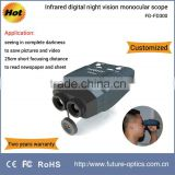 6x seeing in complete darkness portable infrared digital night vision monocular scope FG-FD300