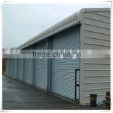 aluminum type roller shutter with automatic roller shutter motor and lock