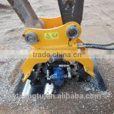 Hydraulic plate compactor for used excavator