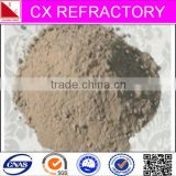 Induction furnace lining material unshaped refractory ramming mass for melting stainless steel 200series