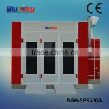 good quality china supplier car painting equipments/portable car spray booth/infrared microwave oven