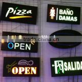 Customized coclorful billboard bar neon sign