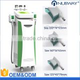 Flabby Skin CE Approved Wholesale Cryo Increasing Muscle Tone + RF Cryolipolysis Fat Freeze Slimming Machine