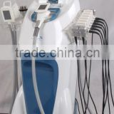 fat dissolving vacuum roller sixpolar rf 3 lights(red,blue,green) laser device on sale in china