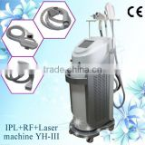 Salon Beauty Salon Equipment Elight/IPL+RF+nd Yag Laser Multifunction Hair Removal Machine For Skin Care -YH-III Breast Lifting Up
