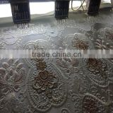 comfortable and beautiful design for curtain eyelet machine stage curtain
