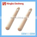 Wholesale high quality cheap cooking kitchen fondant baking dough tools wooden rolling pin