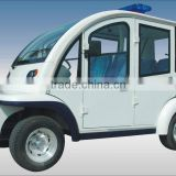 Electric Closed Passenger Car, EG6043KF , 4 seats, CE approved electric golf car with solar panel