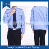 Cheap price custom design security guard uniform