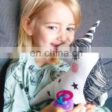 OEM Promotional Soft Plush Stuffed Unicorn Toy/Unicorn Pillow Cutie Plush Unicorn Soft Toy wholesale Unicorn pillow