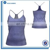 Ladies Lightweight Fitted Performance Tank Top With Mesh At Back Soft And Functional Gym Wear