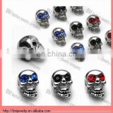 14 GA Stainless Steel Casting Gemmed Eye Skull Replacement Accessories Piercing Body Jewelry
