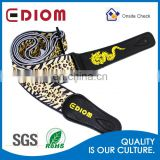 Personality customized polyester sublimation printing cuatro guitar strap