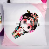 blank cushion cover sublimation pillow case for custom printing