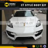 Car-styling 970 CT Style Body Kit panamera 970 2010-2013 Body Kit For porsch 2010-2013