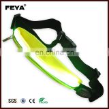 Safety sports running waist belt with LED light