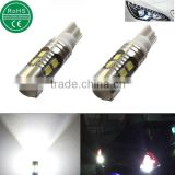 Super Bright AX-2835 Chipsets 912 921 T10/T15 Backup Reverse Light Bulbs Parking lights White