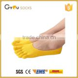 No-sweat gel footlets toe sock, gel heel pads cushion footlet socks