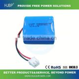 high quality best price High capacity li-polymer battery pack 7.4v 2000mAh rechargeable battery pack