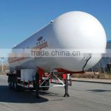 Tri-axle tank semi trailer for LPG