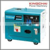 KINGCHAI Noiseless Diesel Generator Set 5kw/5kva Silent Power Generator For Electric Power Supply