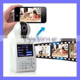 DVR H 264 Wireless IP Camera Recorder Real Time Video Phone Remote Control P2P IP Wifi Monitor