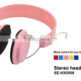 Stereo Sound Wired Headphone Headset Headband Compatible with any Phones and Computers for Exercise