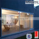 High level tempered frosted glass shower room