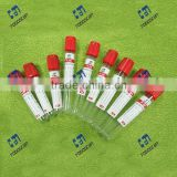 Plastic red tube blood collection tube plain tube