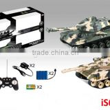 Newest hot sale battery operate remote controlled tank toy rc fighting tank toys for kids