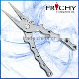 FRICHY FPA09S Heavy Duty SUS420J2 Stainless Steel Split Ring Jaws Fishing Pliers Fishing Tackle Gear