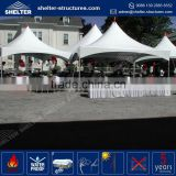 Factory price waterproof, flame redartant, UV-resistant gazebo 4x3m alu alloy frame bbq tent