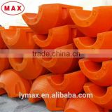 Chinese standard pe foam material dredging pipe floats
