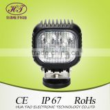 Hotselling led work light high intensity trending now square 10w*4led 40W worklights 10-30V DC auto led bulb