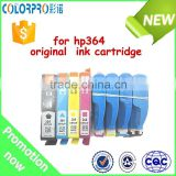 Made in China Alibaba original genuine ink cartridge for hp364 setup for HP Deskjet D5460, Photosmart B010a/B109a/B8553/B209c/