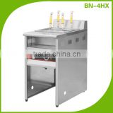 Restaurant Equipment Floor Standing Industrial 4 Pot Electric Pasta Cooker (the most popular item)